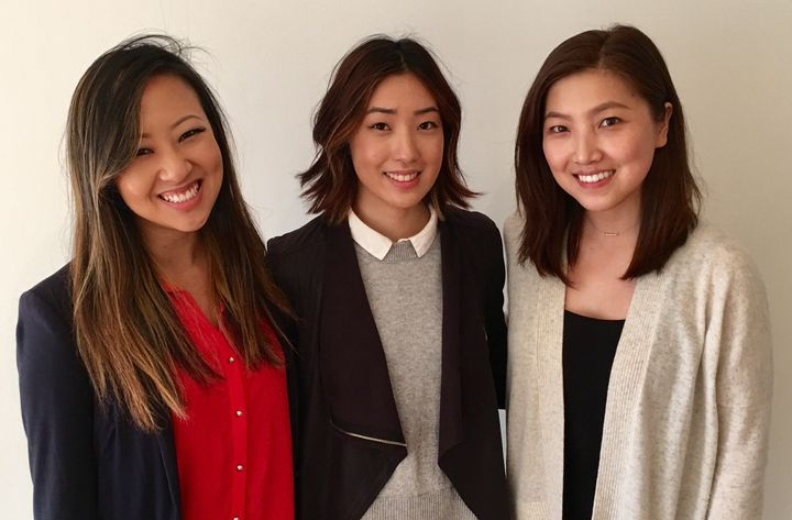 Tech colleagues Annie Shin, Tammy Cho and Grace Choi have started a website to help those targeted by sexual harassment.