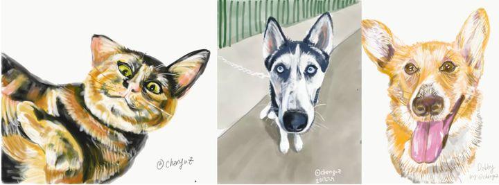 <p>iPad pro drawings</p>