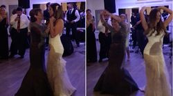 Bride And Her Single Mom Pulled Off One Heck Of A Mother-Daughter
