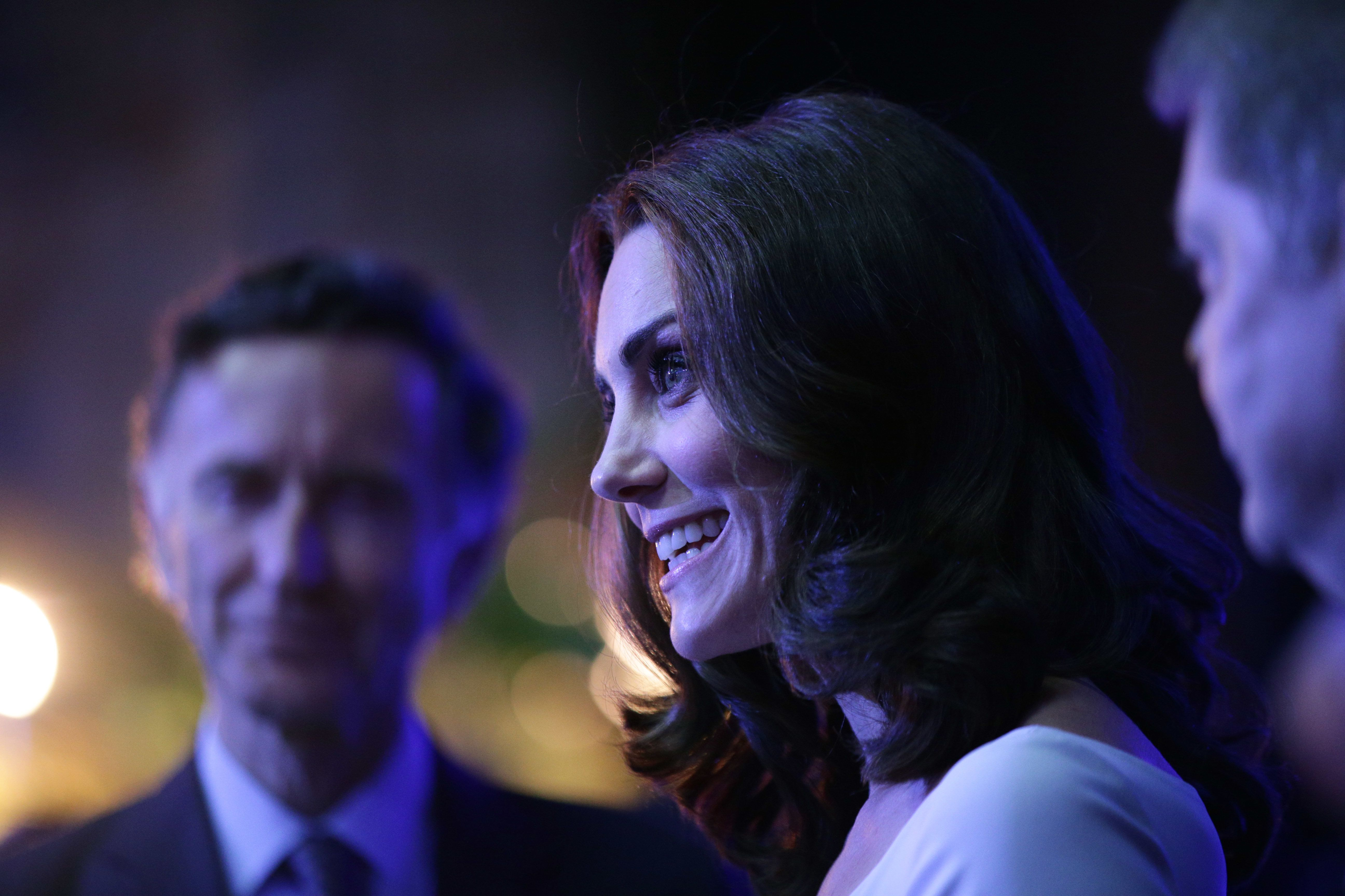 The Duchess of Cambridge Stuns In Design By British Designers Preen At The Natural History