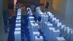 Watch A Woman Trying To Take A Selfie Destroy $200,000 Of