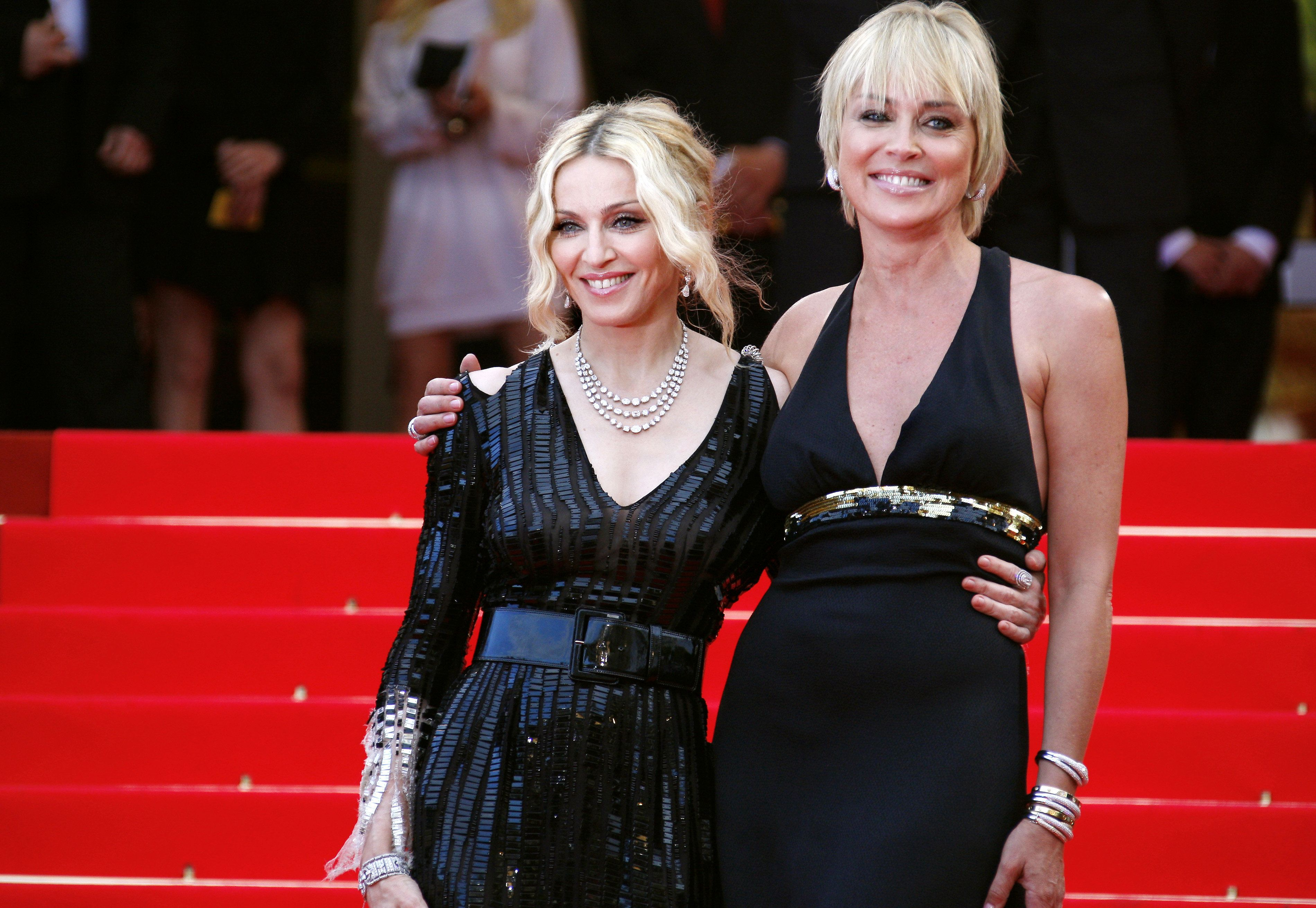 Sharon Stone Responds To Madonna After She's Branded 'Mediocre' By