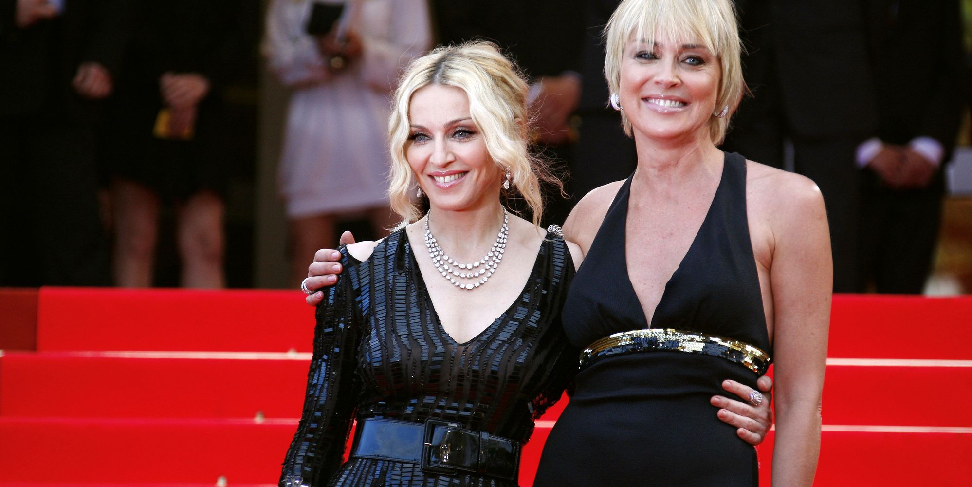 Sharon Stone Responds To Madonna After She's Branded 'Mediocre' By Singer