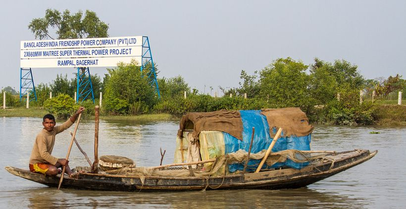 <strong>Sundarbans Forest</strong>: The government of Bangladesh is trying to build the Rampal coal plant in the middle of th