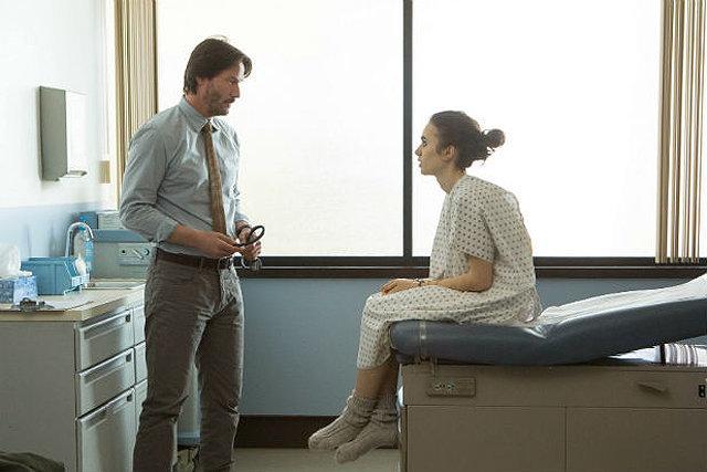Keanu Reeves plays Ellen's