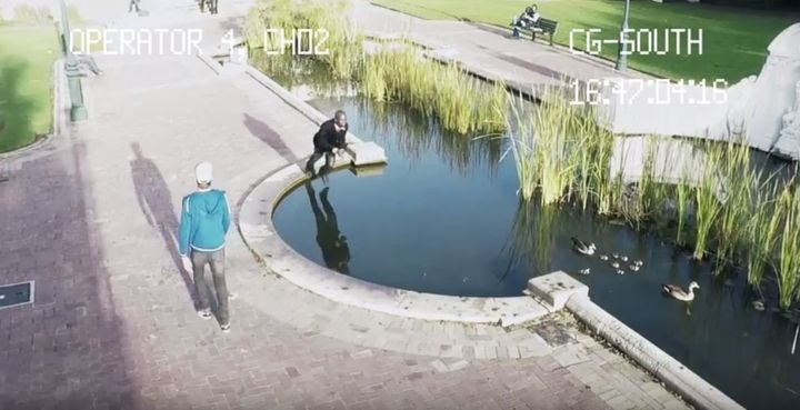 Why texting and walking can land you in deep water