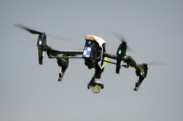 Police Force Unveils The First Fully Operational Drone