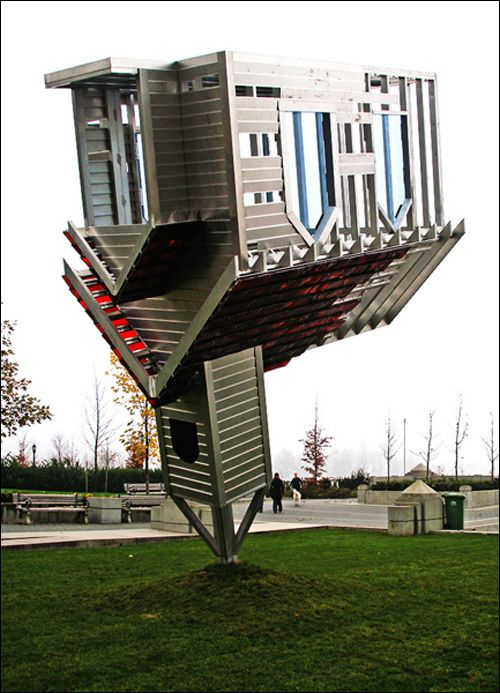 Device to Root Out Evil; artist: Dennis Oppenheim