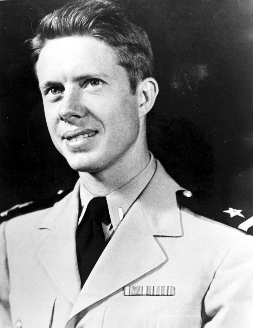 Jimmy(James Earl) Carter as Ensign, USN, circa World War II.