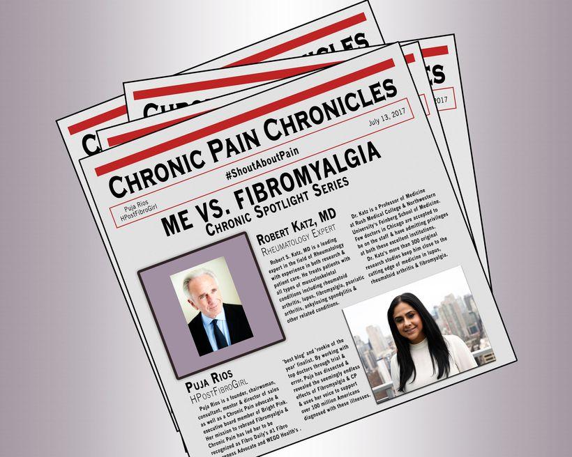 Me vs  Fibromyalgia: Chronic Spotlight Series - Dr  Robert