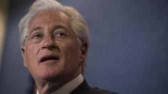 Marc Kasowitz, lawyer for U.S. President Donald Trump, speaks during a news conference at the National Press Club in Washington, D.C., U.S., on Thursday, June 8, 2017. Kasowitz said Comey had revealed himself as part of a group of people in the government 'who are actively attempting to undermine this administration with selective and illegal leaks of classified information and privileged communications,' by acknowledging he asked a friend to tell a reporter the contents of a memo he wrote documenting a conversation with Trump. Photographer: Zach Gibson/Bloomberg via Getty Images
