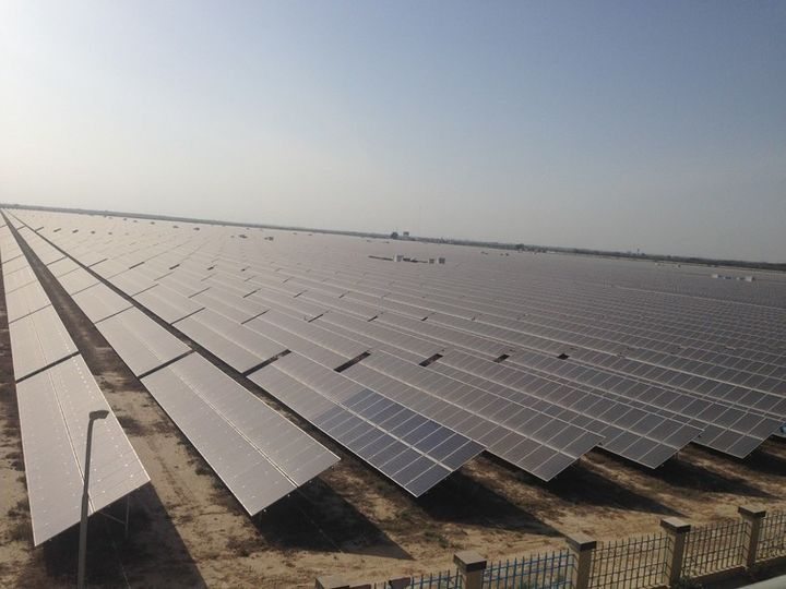 The Qaid-e-Azam plant in Punjab, the biggest solar project in the world