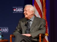 Jimmy Carter Recovers From Dehydration Scare In Canada