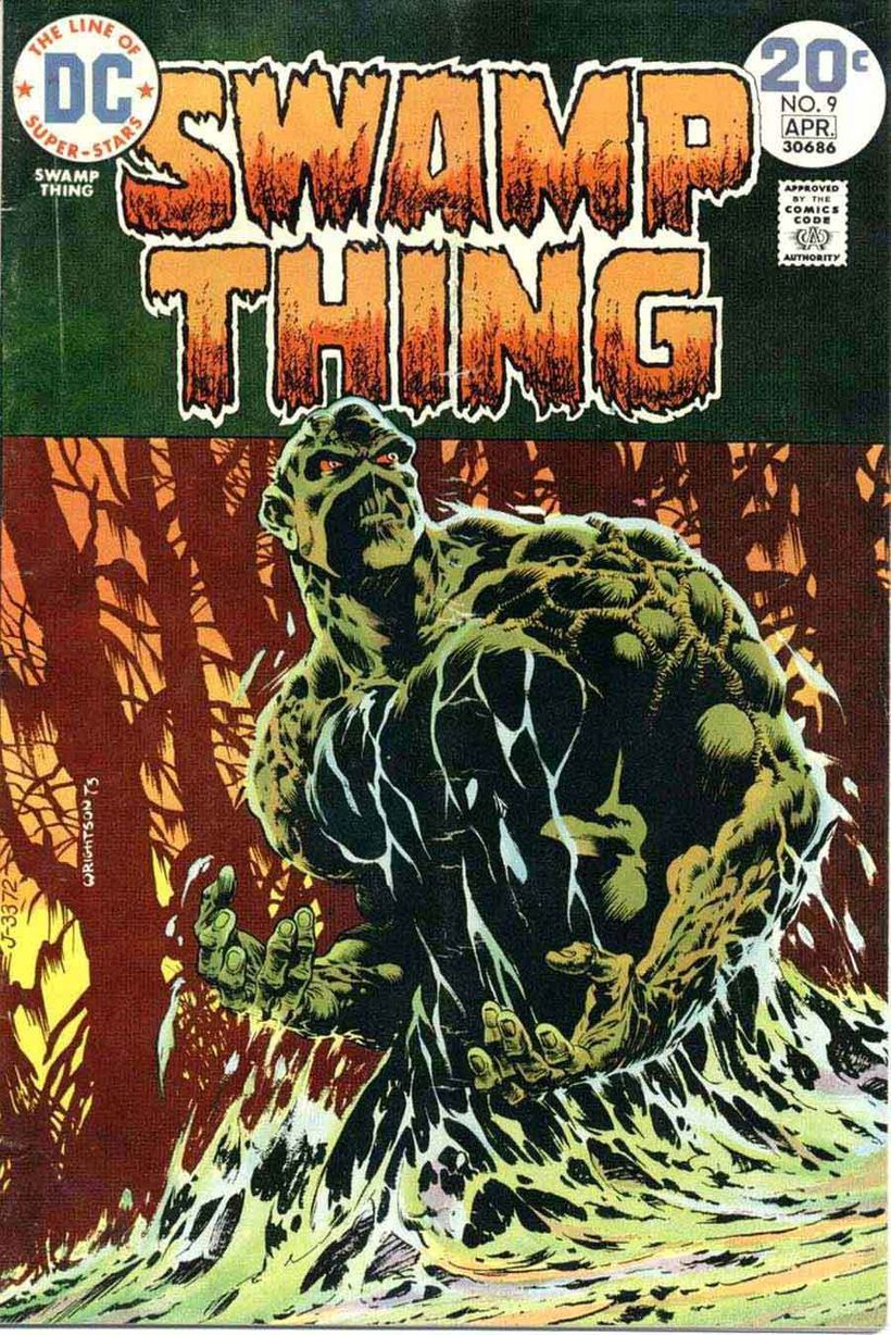 Classic artwork from the late, Bernie Wrightson
