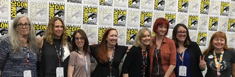Cartoon Creatives: Woman Power in Animation panel in 2016