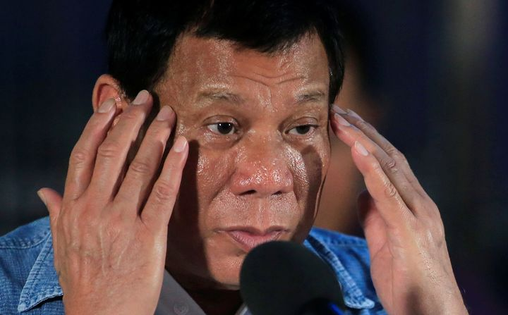 President Rodrigo Duterte has a history of joking about sexual violence against women.