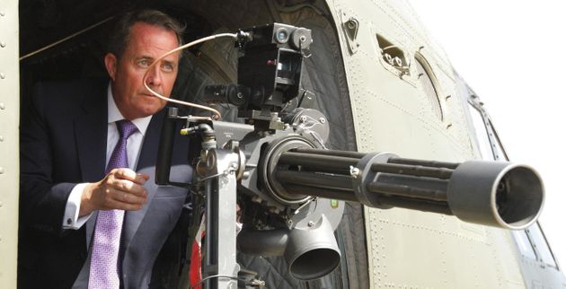 The only picture of Liam Fox you