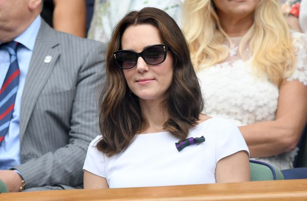 Karwai Tang via Getty Images Duchess of Cambridge attends day 13 of Wimbledon 2017