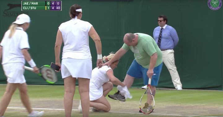 Male Tennis Fan Dons Skirt To Play Wimbledon Women After Shouting Advice