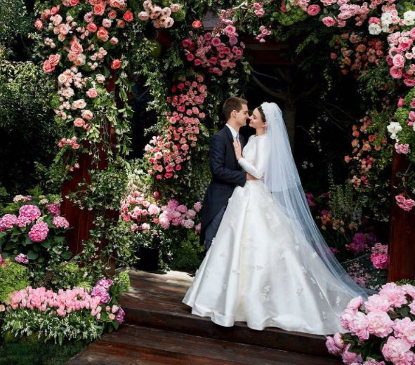 Miranda Kerr's Couture Wedding Dress Has Been Revealed And It's