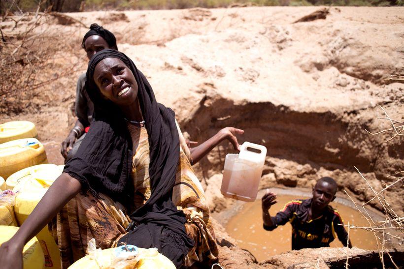 Drought in Kenya's Ewaso Ngiro River Basin