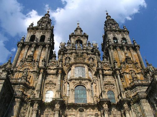 <p>Cathedral of Santiago de Compostela at the end of the Camino</p>