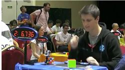 Australian Sets Freakishly Fast Rubik's Cube Records At World