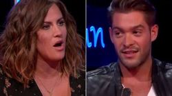 'Love Island' Host Caroline Flack Clashes With Jonny As She Takes Him To Task Over