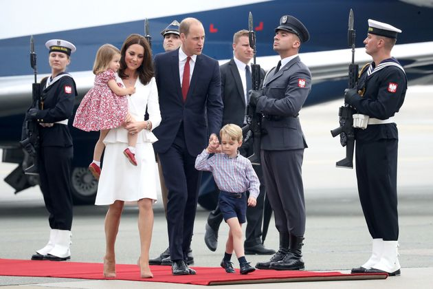 The Duchess of Cambridge Wears Alexander McQueen Coat As She Arrives In