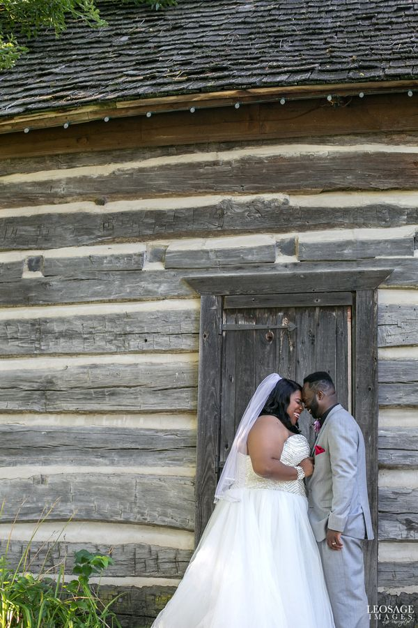 """Congratulations to Aaron and Martinez, married in Detroit, Michigan. These smiles pretty much sum up their beautiful we"