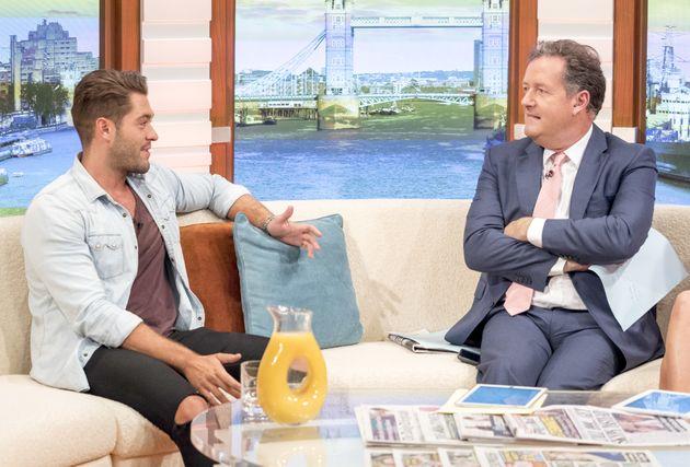 Jonny Mitchell appeared opposite Piers Morgan on 'Good Morning