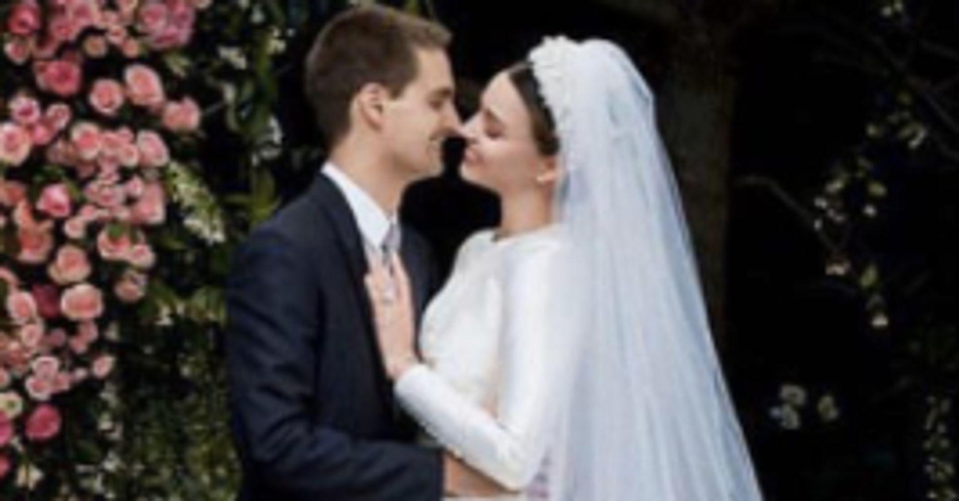 Miranda Kerr Reveals Her Stunning Dior Couture Wedding Gown ...