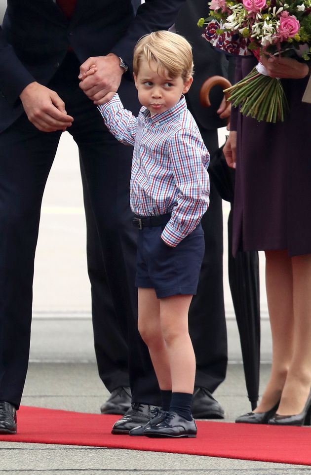 Prince George Clearly Has A Favorite Pair Of