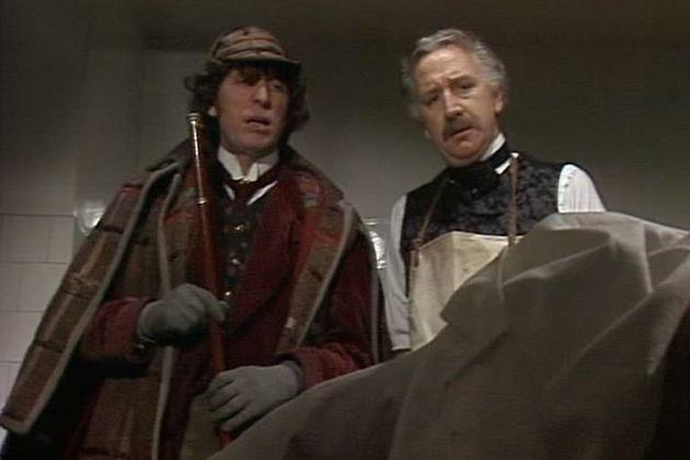 Trevor played Professor Litefoot in 'Doctor