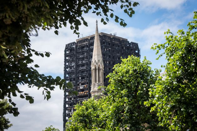 Grenfell tower in North