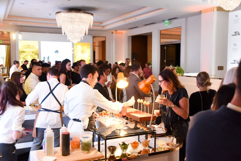 Taste of Waldorf Astoria, July 12, 2017.