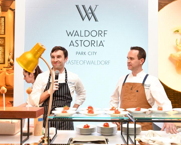 <p>2017 Taste of Waldorf Winners, Alex Bois & Michael Zachman.</p>