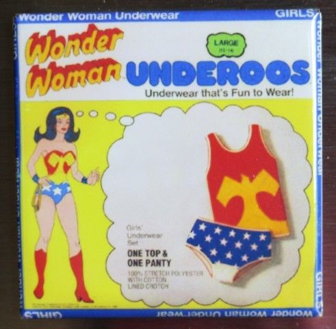 I also had a Wonder Woman lunch box with matching thermos.