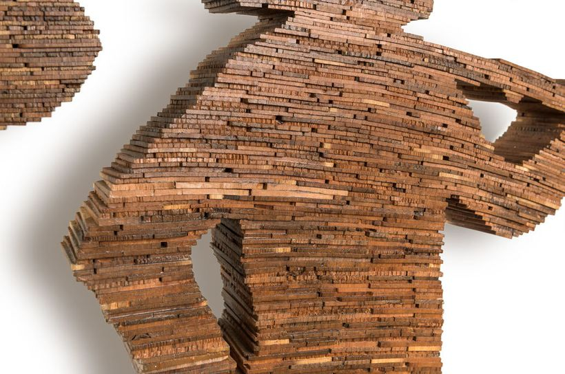 One of the Mosaic Sculptures to be Featured at the  WestEdge Design Fair in Santa Monica