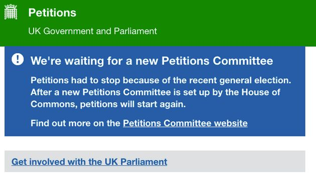 Tory MPs Stop Public Submitting Petitions To Government Until At Least