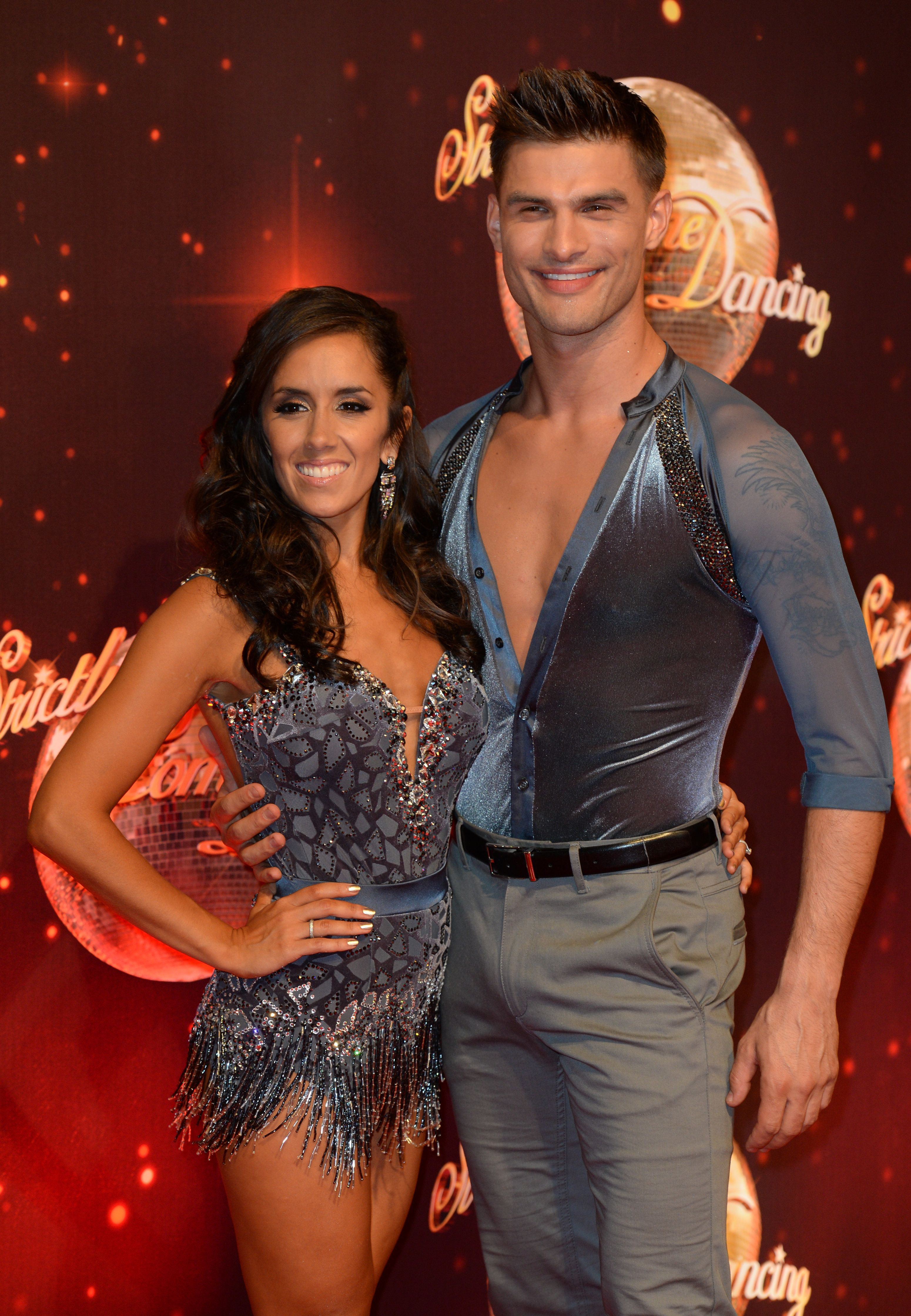 Strictly Come Dancing Professionals Janette Manrara And Aljaz