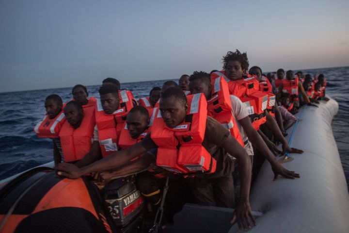 About 90,000 migrants and refugees have traversed the central Mediterranean Sea route to Italy so far in 2017, according to t