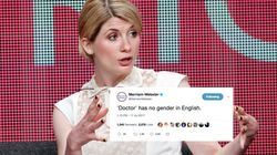 Merriam-Webster Has Six Simple Words For Those Sexist 'Doctor Who'