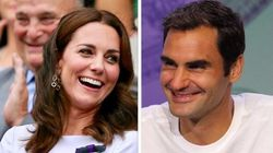 Here's Why Kate Middleton Kissed Roger Federer 3 Times After His Wimbledon