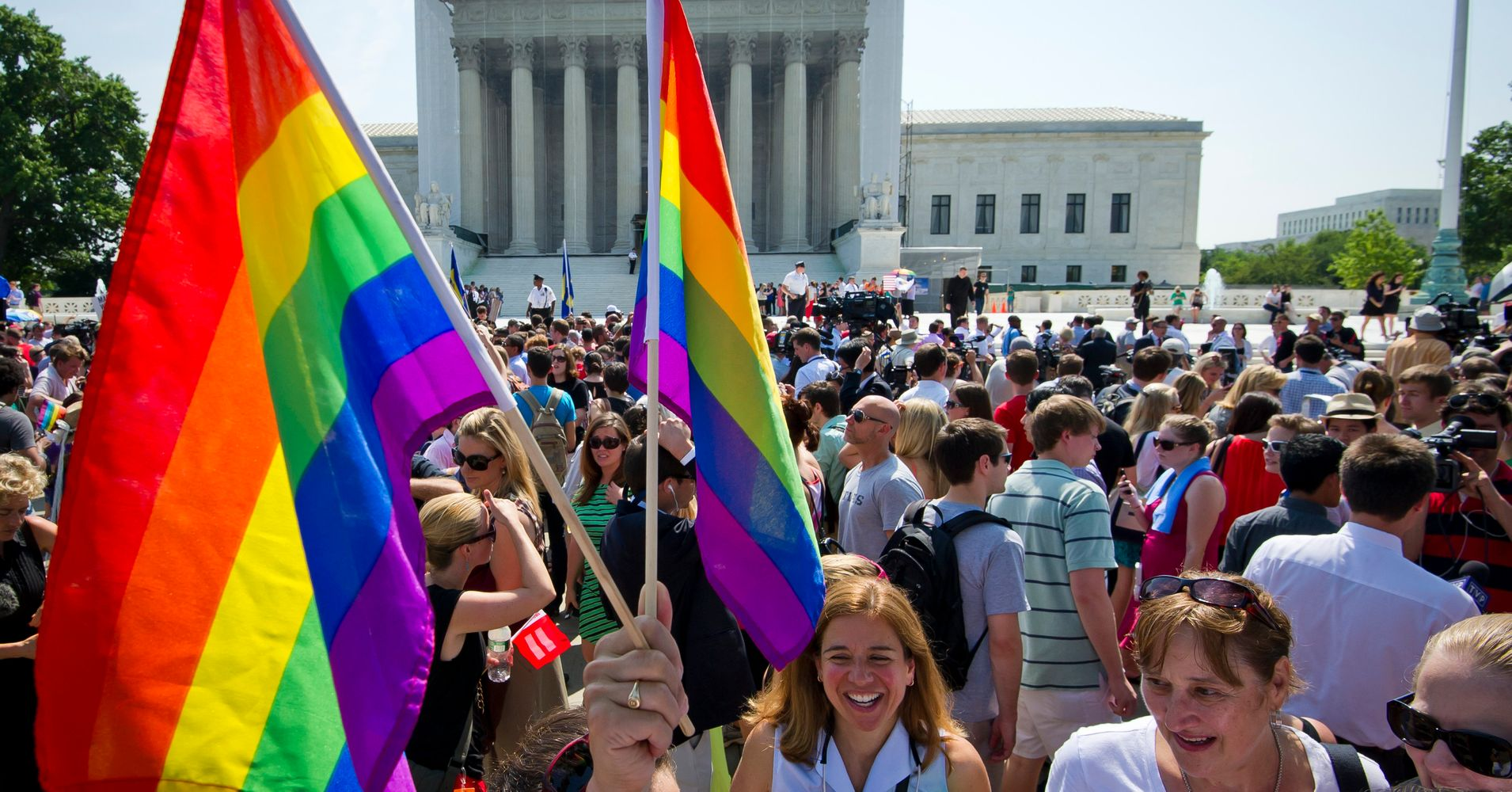 Gay marriage is legalized
