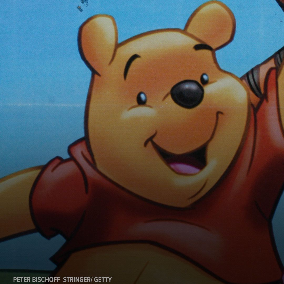 Winnie the Pooh has been banned in China