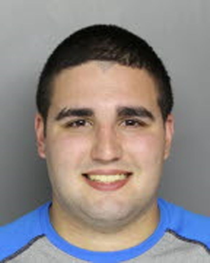 Cosmo DiNardo after his arrest in Bucks County, Pennsylvania.