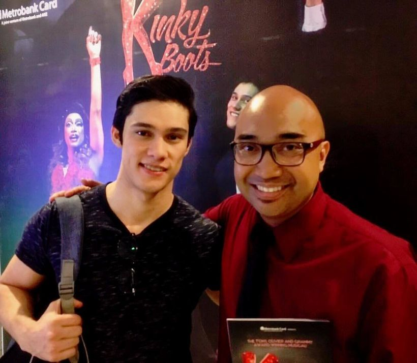 Laurence Mossman - Star of Kinky Boots in Manila, Philippines