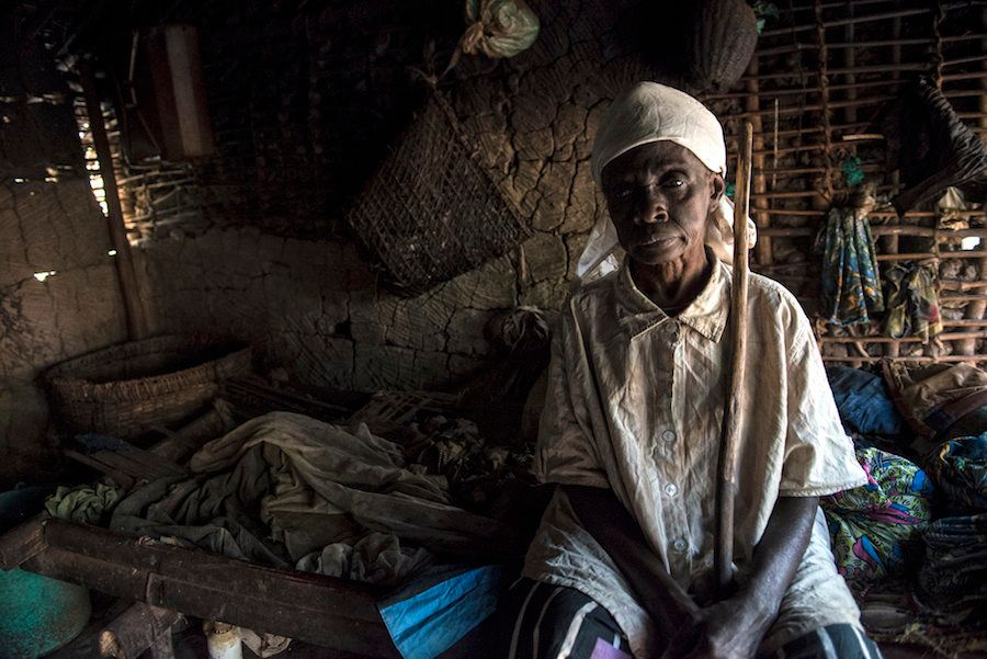 Jetou Mapuani sits in her tiny, one-person