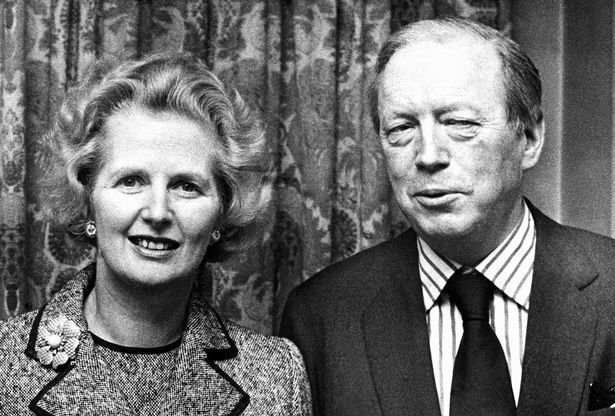 ALLY TO THE END: Margaret Thatcher with her longtime friend, campaign manager, and Shadow Cabinet minister Airey Neave. Neave